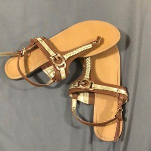 Tan G By Guess Sandals